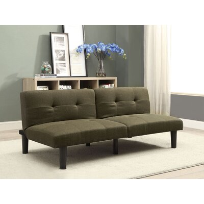 Tubbs II Adjustable Sofa Bed Upholstery: Dark Olive