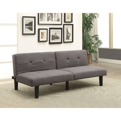 Tubbs II Adjustable Sofa Bed Upholstery: Gray
