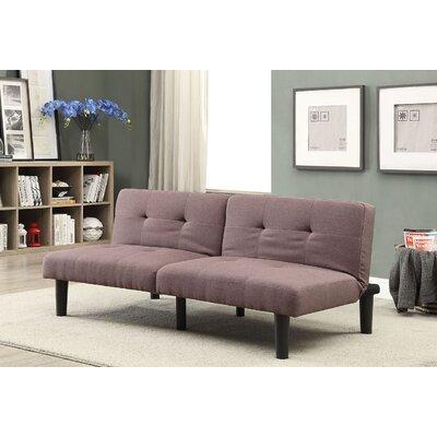 Tubbs II Adjustable Sofa Bed Upholstery: Light Brown