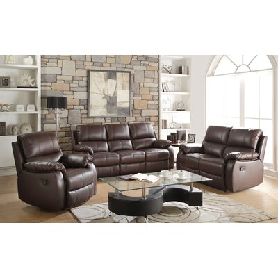 Arno Motion 3 Piece Living Room Set