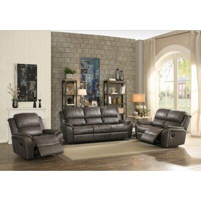 Tinoco Motion 3 Piece Living Room Set