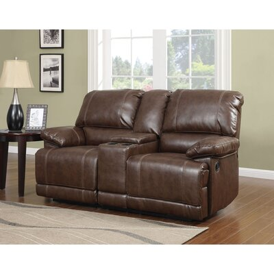 Barta Motion Reclining Loveseat with Console