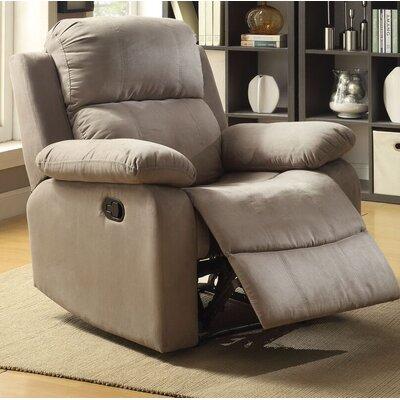 Amelio Recliner Upholstery: Gray