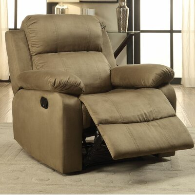 Amelio Recliner Upholstery: Olive