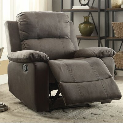 Amell Recliner Upholstery: Charcoal