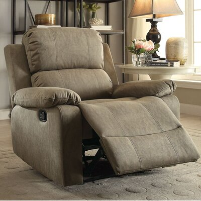 Amell Recliner Upholstery: Taupe