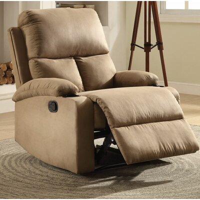 Tindle Recliner Upholstery: Light Brown