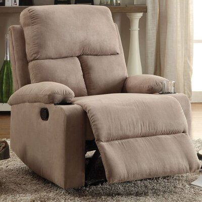 Tindle Recliner Upholstery: Beige