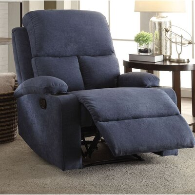 Tindle Recliner Upholstery: Blue