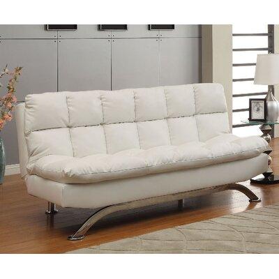 Javier Futon Sofa Upholstery: White