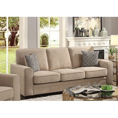 Cabell Sofa with Pillow Upholstery: Khaki