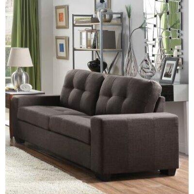Pyne Sofa Upholstery: Charcoal