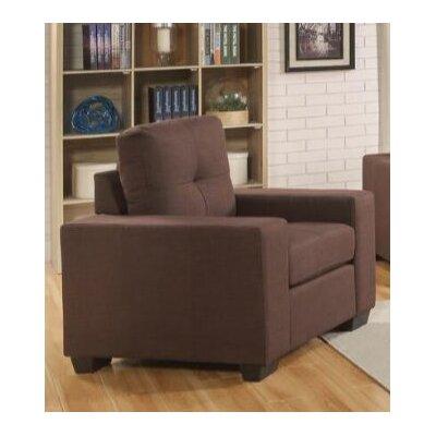 Pyne Armchair Upholstery: Chocolate