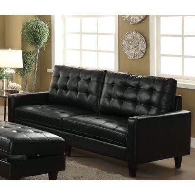 Yamamoto Sofa Upholstery: Black