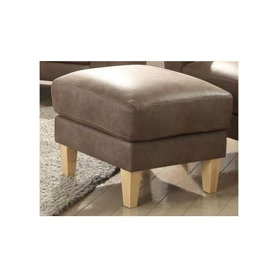 Oatman Ottoman Upholstery: Light Brown