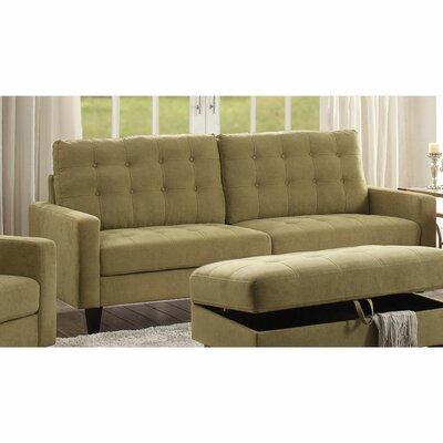 Cabe Sofa Upholstery: Mustard