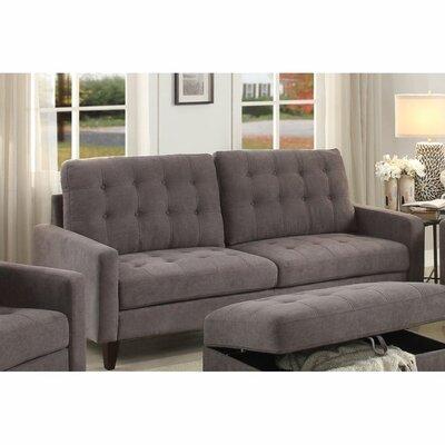 Cabe Sofa Upholstery: Gray