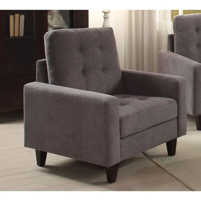 Cabe Armchair Upholstery: Gray