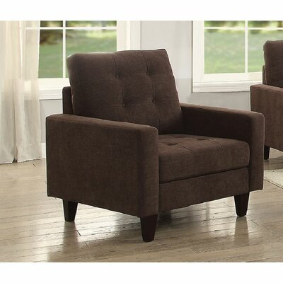 Cabe Armchair Upholstery: Chocolate