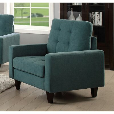 Cabe Armchair Upholstery: Teal