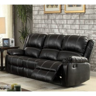 Swinford Sofa Upholstery: Black