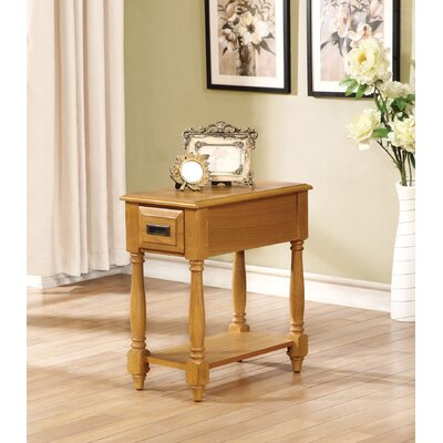 Guzzi End Table with Storage