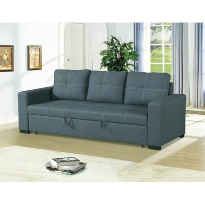 Charles-Brown Sofa Upholstery: Blue Gray