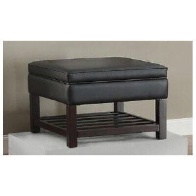 Focht Storage Ottoman Upholstery: Black