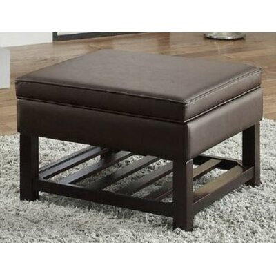Focht Storage Ottoman Upholstery: Brown