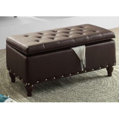 Surrey Storage Ottoman Upholstery: Brown