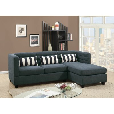 Filkins 2 Piece Sectional Set Color: Slate