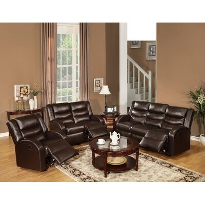 Sullins Motion 3 Piece Living Room Set