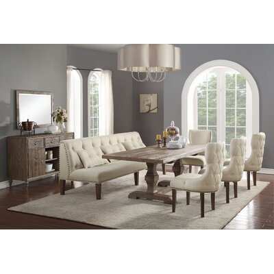 Loiselle 6 Piece Dining Set
