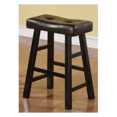 Upper Shockerwick 24 Bar Stool Color: Black