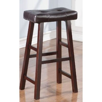 Upper Shockerwick 29 Bar Stool Color: Dark Cherry