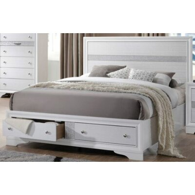 Mccreary Platform Bed Size: Queen, Color: White