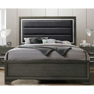 Gaven Upholstered Panel Bed Size: Queen