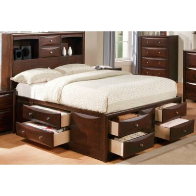 Tipler Storage Platform Bed Size: Full