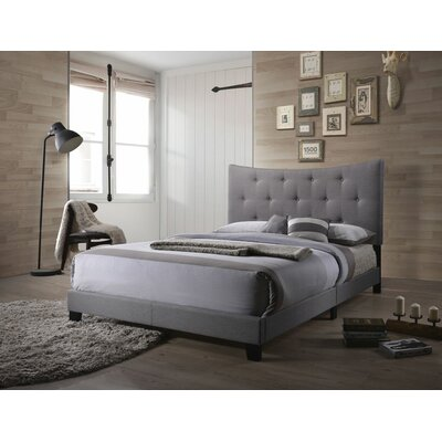 Swanner Queen Upholstered Panel Bed