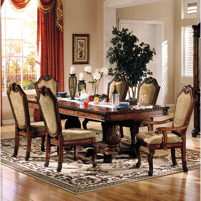 Liam Drop Leaf Dining Table Color: Cherry