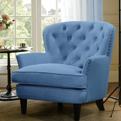 Collingdale Armchair Upholstery: Light Blue
