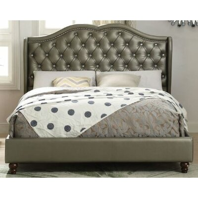 Mathews Queen Upholstered Platform Bed