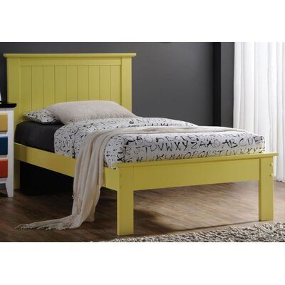 Tudor City Panel Bed Size: Queen, Color: Yellow