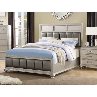 Barnes Upholstered Platform Bed Size: King