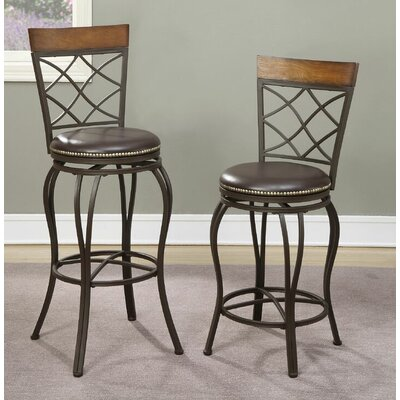 Harrel 24 Swivel Bar Stool
