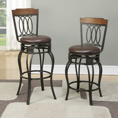 Turbeville 29 Swivel Bar Stool