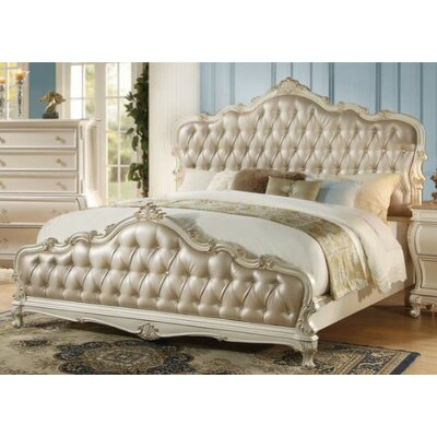Bernard Upholstered Bed Size: King