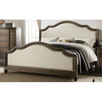 Putney Presswood Upholstered Bed Size: King