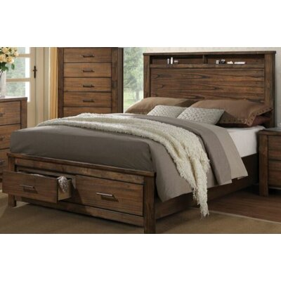 Parkwoods Storage Platform Bed Size: King