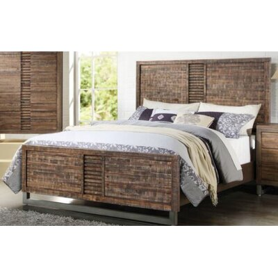 Chauncey Storage Panel Bed Size: King